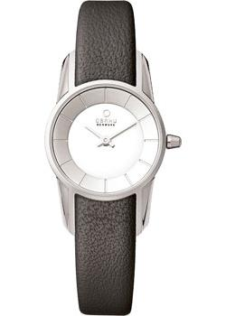 Obaku Часы Obaku V130LXCIRB. Коллекция Leather obaku часы obaku v193gmvirn коллекция leather
