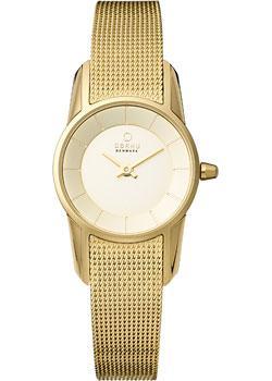 цена Obaku Часы Obaku V130LXGGMG. Коллекция Mesh онлайн в 2017 году