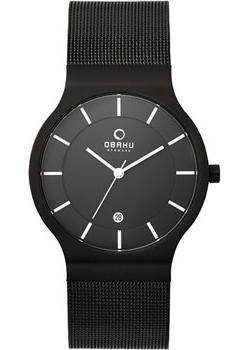 Obaku Часы Obaku V133GDBBMB. Коллекция Mesh цена и фото