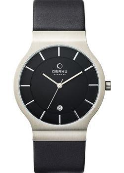 Obaku Часы Obaku V133GDCBRB. Коллекция Leather obaku часы obaku v133gdcbrb коллекция leather