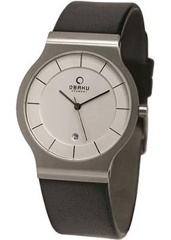 Obaku Часы Obaku V133GDCIRB. Коллекция Leather obaku часы obaku v193gmvirn коллекция leather