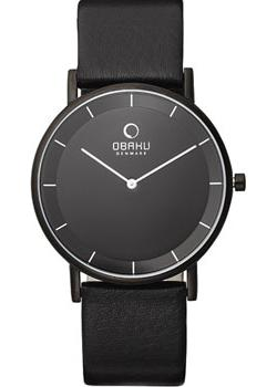 Obaku Часы Obaku V143GXBBRB. Коллекция Leather obaku часы obaku v193gmvirn коллекция leather