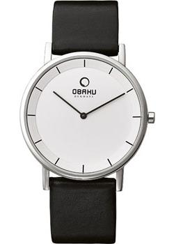 Obaku Часы Obaku V143GXCIRB. Коллекция Leather obaku v186lxvwrb