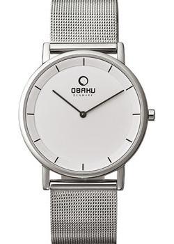 Obaku Часы Obaku V143GXCWMC. Коллекция Mesh obaku v186lxcwmc