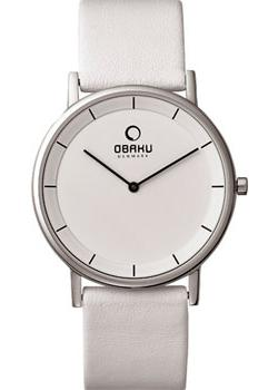 Obaku Часы Obaku V143GXCWRW. Коллекция Leather obaku часы obaku v153gdgwrb коллекция leather