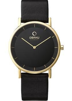 Obaku Часы Obaku V143GXGBRB. Коллекция Leather obaku часы obaku v153gdgwrb коллекция leather