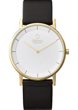 Obaku Часы Obaku V143GXGWRB. Коллекция Leather obaku v143gxgwrb