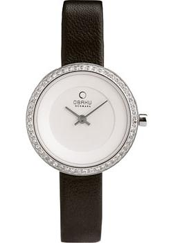 Obaku Часы Obaku V146LECIRB. Коллекция Leather obaku часы obaku v193gmvirn коллекция leather