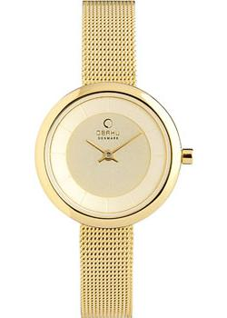 Obaku Часы Obaku V146LXGGMG. Коллекция Mesh все цены