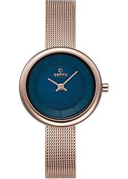 Obaku Часы Obaku V146LXVLMV. Коллекция Mesh obaku часы obaku v158levnmn коллекция mesh
