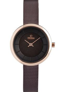 Obaku Часы Obaku V146LXVNMN. Коллекция Mesh