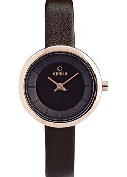 Obaku Часы Obaku V146LXVNRN. Коллекция Leather все цены