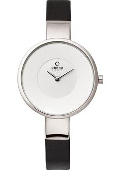 Obaku Часы Obaku V149LXCIRB. Коллекция Leather obaku часы obaku v149lxvjrj коллекция leather