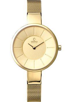 Obaku Часы Obaku V149LXGGMG. Коллекция Mesh obaku часы obaku v178gxclmc коллекция mesh