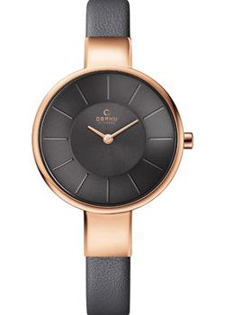 Obaku Часы Obaku V149LXVJRJ. Коллекция Leather obaku часы obaku v153gdgwrb коллекция leather