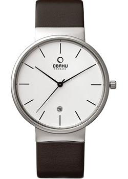Obaku Часы Obaku V153GDCIRN. Коллекция Leather obaku часы obaku v153gdgwrb коллекция leather