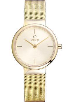 Obaku Часы Obaku V153LXGGMG. Коллекция Mesh все цены