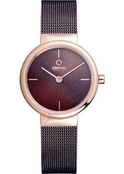 Obaku Часы Obaku V153LXVNMN. Коллекция Mesh все цены
