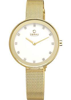 Obaku Часы Obaku V161LXGIMG. Коллекция Mesh все цены