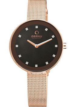 Obaku Часы Obaku V161LXVNMV. Коллекция Mesh цена