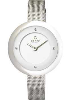 цена Obaku Часы Obaku V162LXCIMC. Коллекция Mesh онлайн в 2017 году