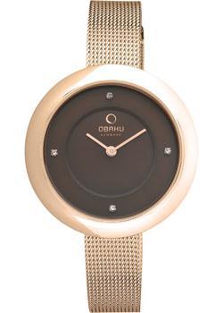цена Obaku Часы Obaku V162LXVNMV. Коллекция Mesh онлайн в 2017 году