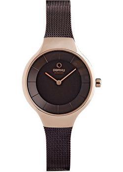 Obaku Часы Obaku V166LXVNMN. Коллекция Mesh цена и фото