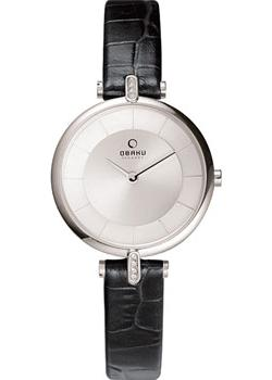 Obaku Часы Obaku V168LECIRB. Коллекция Leather obaku часы obaku v153gdgwrb коллекция leather