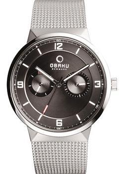 Obaku Часы Obaku V170GMCBMC. Коллекция Mesh цена