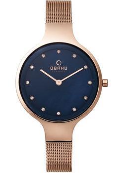 Obaku Часы Obaku V173LXVLMV. Коллекция Mesh часы женские obaku