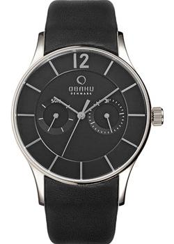 Obaku Часы Obaku V175GMCBRB. Коллекция Leather obaku часы obaku v149lxvjrj коллекция leather