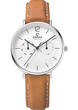 Obaku Часы Obaku V182GMCWRZ. Коллекция Leather obaku v186lxvwrb