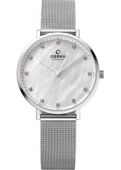 Obaku Часы Obaku V186LXCWMC. Коллекция Mesh obaku часы obaku v153lxvwmv коллекция mesh
