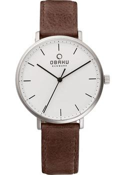 Obaku Часы Obaku V186LXCWRN. Коллекция Leather obaku часы obaku v149lxvjrj коллекция leather