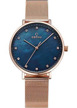 Obaku Часы Obaku V186LXVLMV. Коллекция Mesh