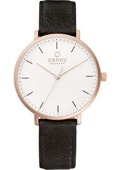 Obaku Часы Obaku V186LXVWRB. Коллекция Leather obaku v186lxvwrb