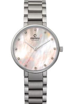 Obaku Часы Obaku V189LXCPSC. Коллекция Links jp 98 36статуэтка кошка pavone