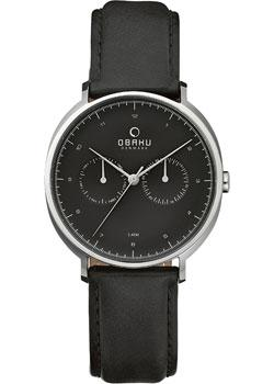 Obaku Часы Obaku V193GMCBRB. Коллекция Leather obaku v149lxcirb