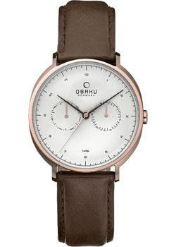 Obaku Часы Obaku V193GMVIRN. Коллекция Leather obaku часы obaku v193gmvirn коллекция leather
