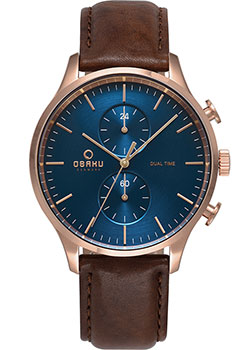 Часы Obaku Leather V196GUVLRN