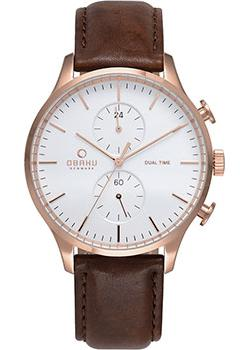Obaku Часы Obaku V196GUVWRN. Коллекция Leather obaku v186lxvwrb