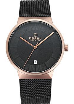 Obaku Часы  V200GDVBMB. Коллекция Mesh