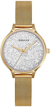 fashion наручные  женские часы Obaku V238LXGWMG