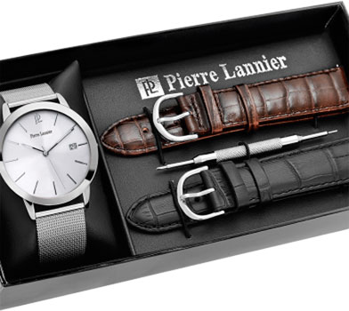 Pierre Lannier Часы Pierre Lannier 369C128. Коллекция Coffrets pierre hardy платок
