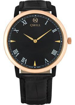 все цены на  Qwill Часы Qwill 6000.01.02.1.51A. Коллекция Classic  онлайн