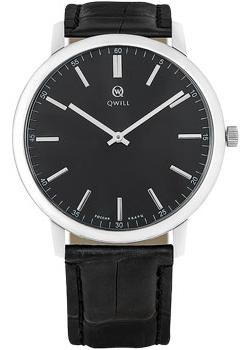 Qwill Часы Qwill 6000.01.04.9.55A. Коллекция Classic everswiss часы everswiss 2787 lbkbk коллекция classic