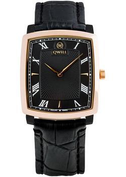 цена на Qwill Часы Qwill 6002.01.02.1.51A. Коллекция Classic