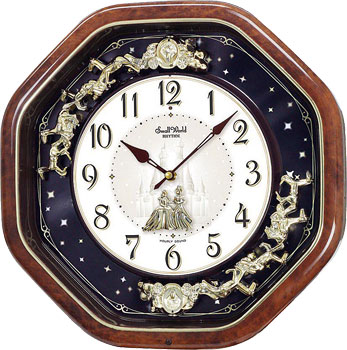 Rhythm Настенные часы Rhythm 4MH823WD06. Коллекция Century rhythm настенные часы rhythm cmg743nr06 коллекция century