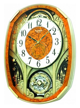 Rhythm Настенные часы Rhythm 4MH877WD23. Коллекция wd 23 4 свеча аром янтарь и мирра
