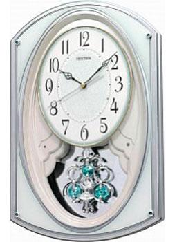 Rhythm Настенные часы Rhythm 4MJ401WR05. Коллекция Century rhythm настенные часы rhythm cmg809nr19 коллекция century